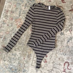 American Apparel long sleeve body suit